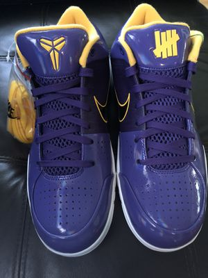 """Kobe 4 x Undefeated """"Lakers"""" for Sale in Rosemead, CA"""