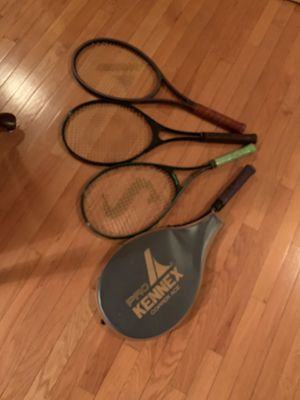 4 tennis rackets for Sale in Richmond, VA