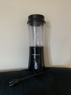 Hamilton Beach Single Serve Blender with Travel Top for Sale in Grapevine, TX