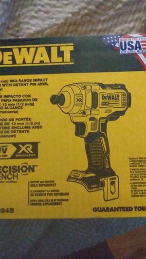 "DeWalt 1/2"" Impact Wrench w/ detent pin anvil for Sale in Ocala, FL"