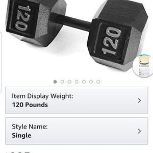 New 120 Lb Cast Iron Weight for Sale in Alvarado, TX