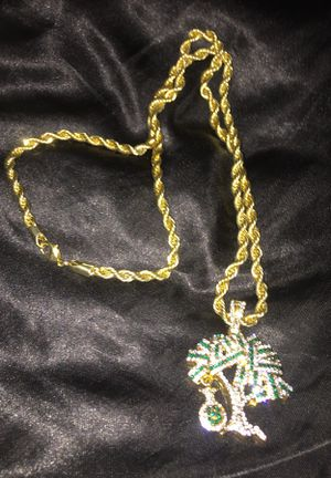 Money tree gold chain for Sale in Oxon Hill, MD