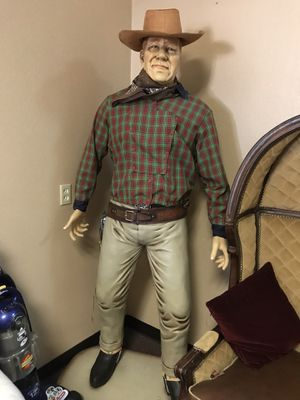 Life size John Wayne for Sale in Las Vegas, NV