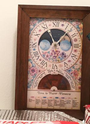 Antique solstice equinox farming clock for Sale in Tustin, CA