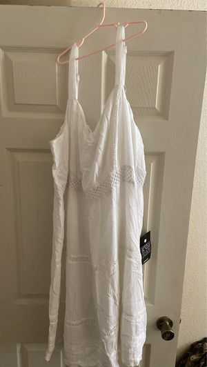 White cotton summer dress for Sale in Madera, CA