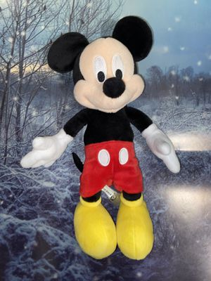 """Disney store Original Mickey Mouse approximately 13"""" plush toy. for Sale in Bellflower, CA"""