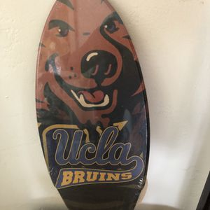"UCLA BRUIN Printed 18"" Wooden Surfboard for Sale in Redondo Beach, CA"