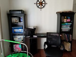 Entertainment center and 2 bookshelves for Sale in Chula Vista, CA