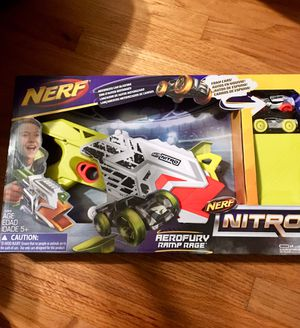 Nerf nitro gun and 2 nerf cars for Sale in Lawndale, CA