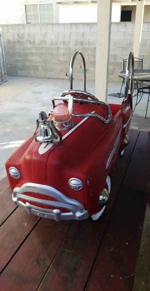 Firetruck pedal car for Sale in Carson, CA