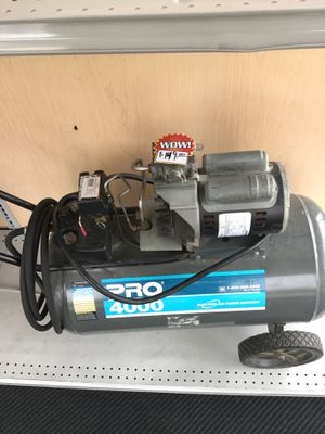 pro 4000 air compressor for Sale in Kansas City, MO
