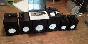 Yamaha Studio Monitors × Macbook Pro (Great Condition) for Sale in College Park, GA