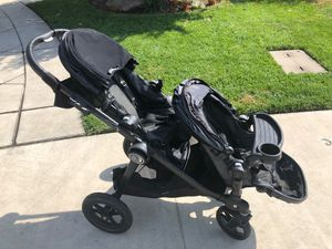 City select double baby jogger stroller for Sale in Kingsburg, CA