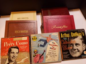 Vinyl Record Lot of 45s rpm in Albums - (Various Genres from 50s + 60s + 70s) You get them all for Sale in Reinholds, PA