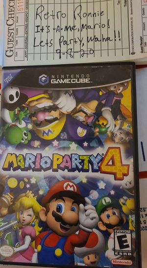 Mario Party 4 CIB for Sale in Tacoma, WA