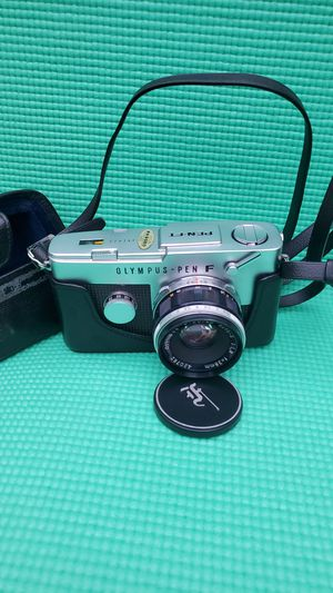 Olympus Single-Lens Reflex Camera Pen-FT 35mm Film Half Frame Camera w/ 38mm f/1.8 Lens from Japan / Original case for Sale in Tacoma, WA