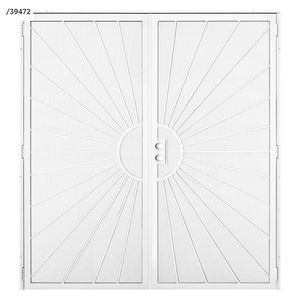Unique Home Designs 72 in. x 80 in. Surface Mount Outswing Double Security Door - New with defect for Sale in Dallas, TX