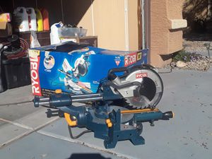 Table saw, nail gun with framing nails. for Sale in Phoenix, AZ