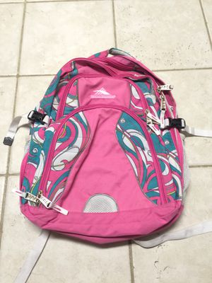 pink, blue, and white high sierra backpack for Sale in Nashville, TN