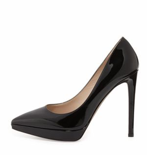 Valentino Black patent leather pumps. Brand new! Size 7.5. for Sale in WHT SETTLEMT, TX