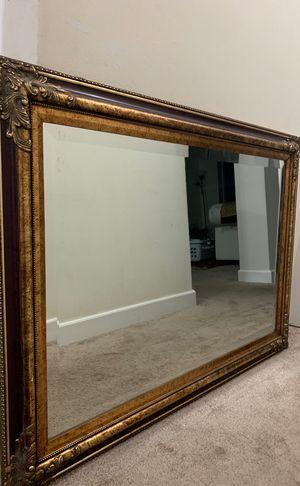Beautiful vintage antique mirror 41 x 28 in for Sale in Alexandria, VA