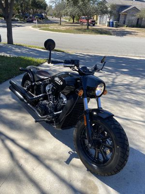 Indian Scout Bobber for Sale in Laredo, TX