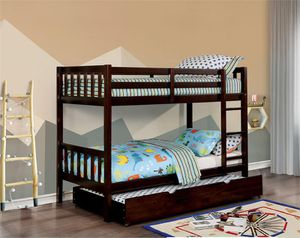 💥🔥💥Twin twin bunk bed with 2 mattress $499 🔥💥💥💥🔥 for Sale in Fresno, CA