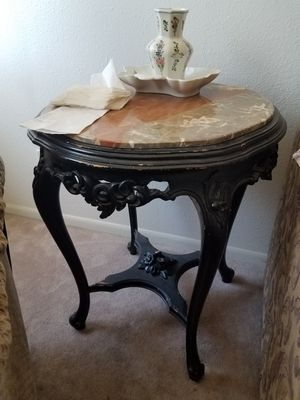 Vintage Marble Top Table for Sale in Torrance, CA