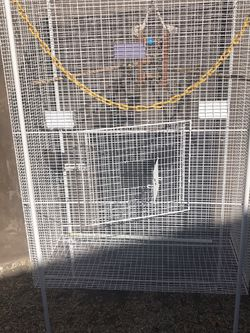 Birds Cage Size 18 X 36 & 47 Inch High for Sale in Los Angeles,  CA