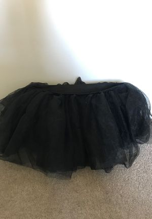 Black Mini Tulle Skirt Tutu One Size for Sale in Poolesville, MD