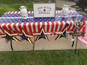 Outdoor 4th Of July Decorations for Sale in Milwaukee, WI