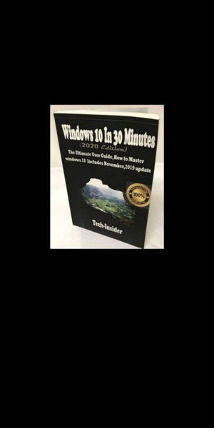 Windows 10 in 30 Minutes. 2020 Edition. for Sale in Corona, CA