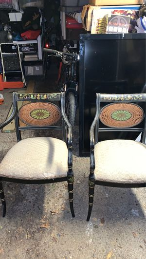 Antique Chairs 40.00 for the pair for Sale in Fairview Park, OH