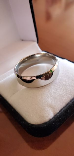 Stainless Steel, Men's Ring, Size 12 for Sale in Portland, OR