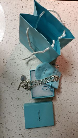 Tiffany Heart Tag Toggle Necklace for Sale in San Diego, CA