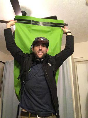 Seal Line Green 115 L Boundary Pack waterproof drybag backpack for Sale in Salt Lake City, UT