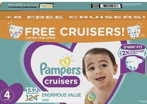 New in package pampers cruisers size 4 for Sale in Plano, TX