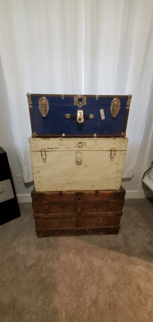 Steamer trunks for Sale in Citrus Heights, CA