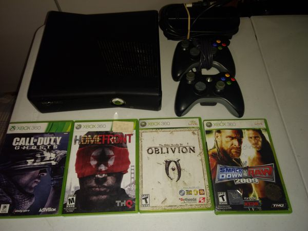 Firm price Xbox 360 with games