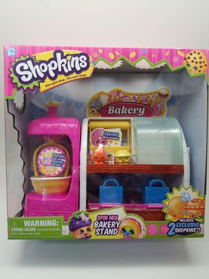 Shopkins Spin Mix Bakery Stand Playset for Sale in Phoenix, AZ