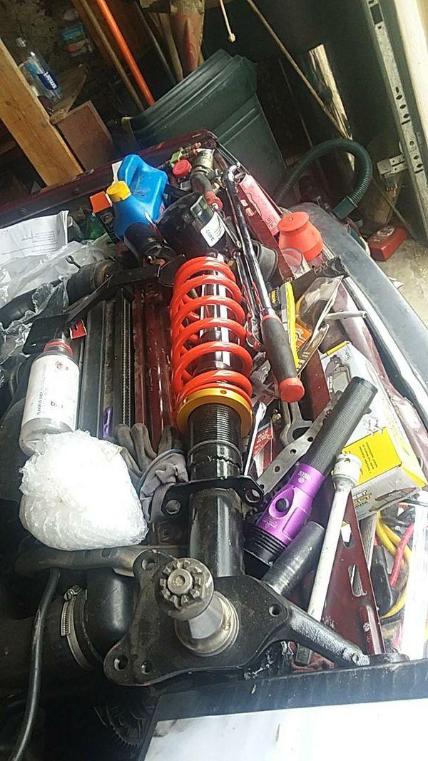 Volvo 240 parts (coilovers, adustable suspensión)