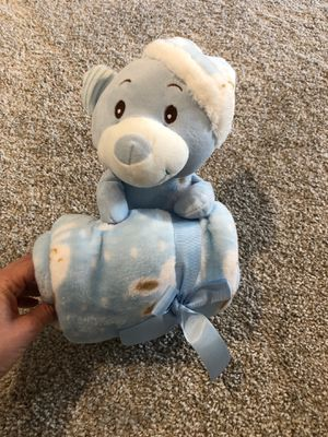 Baby blanket and stuffed bear- baby gift BRAND NEW for Sale in Las Vegas, NV