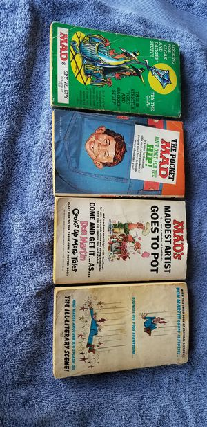 Vintage Mad books for Sale in Hutchinson, KS