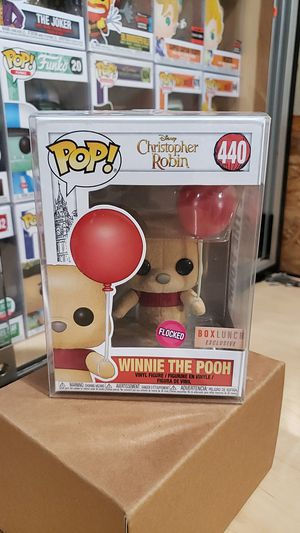 Winnie The Pooh 440 (Flocked) Funko Pop! Disney Christopher Robin - Box Lunch Exclusive for Sale in Los Angeles, CA