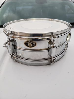 Tama Stagestar chrome snare drum for Sale in Avondale, AZ