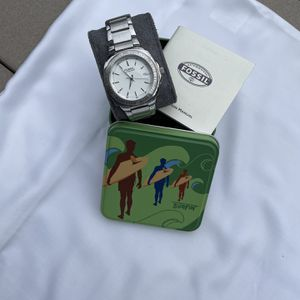 Fossil Stainless Steel Watch White Dial for Sale in Warwick, RI