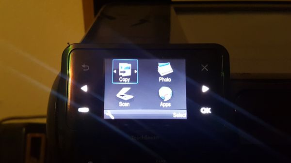 HP Photosmart All-in-One. Internet Printer Scanner Copier.