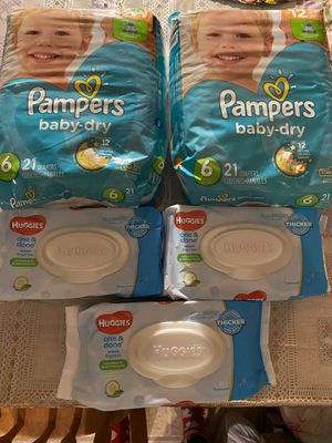PAMPERS _ BABY DRY. for Sale in Chicago, IL