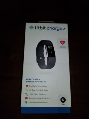 Fitbit Charge 2. Small. Black for Sale in Marina del Rey, CA