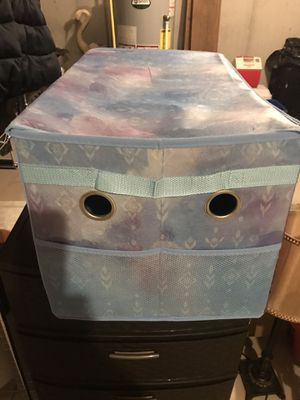 Kids foldable toy box for Sale in Prospect, CT